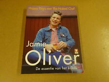 BOEK / JAMIE OLIVER - HAPPY DAYS MET THE NAKED CHEF