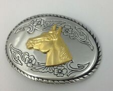 Horse Head Belt Buckle American Vintage Classic Retro Country Western