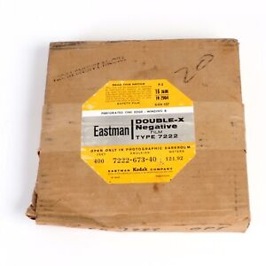 ^ Kodak Eastman Double X Type 7222 16mm Cine Film 400ft [Expired ??]