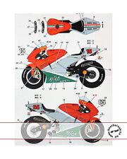 STUDIO 27 CAPIROSSI TAMIYA 1/12 DUCATI MOTO GP ITALY 06