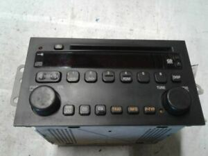 Radio Receiver AM FM CD Player 02 2002 Buick Rendezvous # 09359514