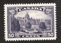 #226i re-entry - Canada -  1935  -  50 Cent  -  MNH - F/VF -  superfleas cv $175