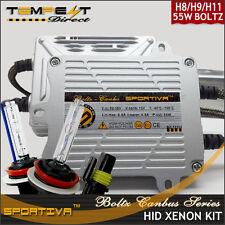 55W AC Boltz Series CANBUS Low Fog or Hi Beam HID Xenon Conversion Kit w Decoder