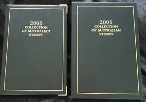 Ltd Ed #4585 AUSTRALIA POST YEARBOOK 2005 EXECUTIVE BLACK GOLD GILT - ALL STAMPS