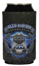 Harley-Davidson® #1 Police Badge Bar & Shield Beer Can Holder Koozie CF126389