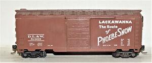 DL&W 40' Box Car
