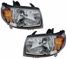 Pair Headlights Suzuki APV Van 06/05-ON New Lamps 07 08 09 10 11 12 13 14 15 16