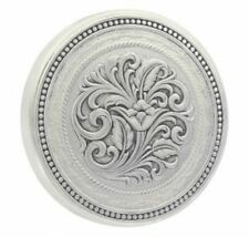 Montana Silversmith LID8NF Barbed Wire Filligree Snuff Can Lid
