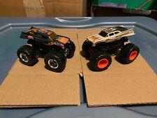 Hot Wheels 1/64 Monster Jam Cremator & Elimonator  Lot of 2