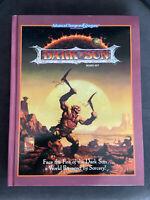 DARK SUN SETTING - SPECIAL HARDCOVER  REPRINT  - AD&D 2E - BOX SET IN BOOK FORM
