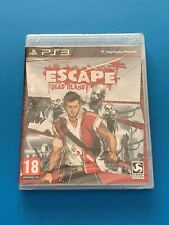 Escape Dead Island ps3 Official New & Sealed UK PAL Sony PlayStation 3 Game