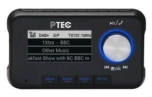 ATEMIO PTEC A1 DAB+ Autoradio Adapter Bluetooth / Streaming / Freisprechfunktion
