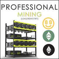 Pro mining contract (rent/try/lease) - 48h ETH / ETC - 370 MH/s