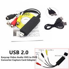 Easycap USB 2.0 Video Audio VHS to DVD Converter Capture Card Adapter Practical