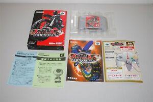 EXCITE BIKE 64 japan Nintendo 64 N64 Game