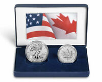 2019-W Pride of Two Nations Limited Edition Two-Coin Silver Set
