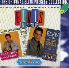 ELVIS PRESLEY - LIVE A LITTLE, LOVE A LITTLE / CHARRO! / THE TROUBLE - NEW CD!!