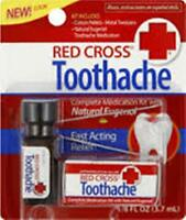 Red Cross Complete Medication Kit, Toothache (3 pack)