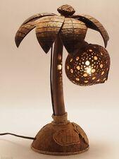 Kunstvolle Palme Lampe aus Echtem Kokosnuss
