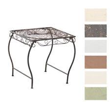 Tisch ZARINA Gartentisch Stehtisch Metalltisch Eisen Terassentisch Beistelltisch