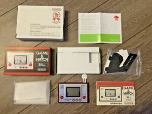 NINTENDO GAME & WATCH BALL Club Nintendo Limited GAME AND WATCH NEW Accessories