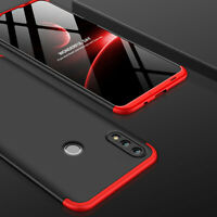 For Huawei P Smart Y9 2019 Case 360° Full Protective Armor Cover+Tempered Glass