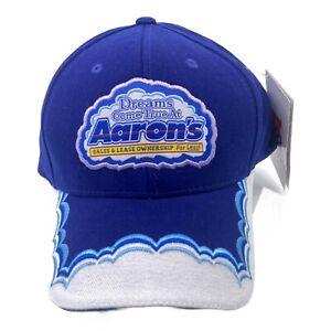 Michael Waltrip #99 Aaron's Dream Machine Racing Team Hat Blue Chase Authentics