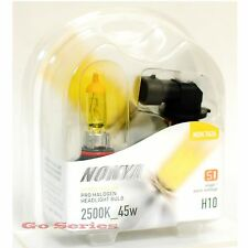 Nokya H10 9145 Hyper Yellow Headlight Fog Light Halogen Bulb 2500K S1