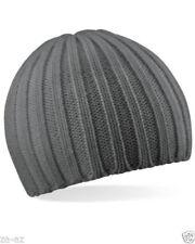 Gorra de hombre de acrílico color principal gris