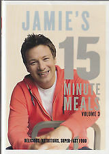 JAMIE'S 15 MINUTE MEALS (VOLUME 3) 2 DISC SET   NEW DVDs