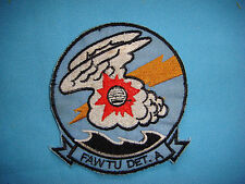 US NAVY PATCH US NAVY FAWTU DET. A FLEET ALL WEATHER TRAINING