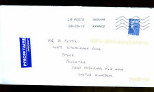 France 2010 Airmail Cover To UK #C1385