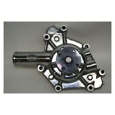 PRW 1431810 Polished High Perf Alum Water Pump Mopar Small Block 1970 to 1991