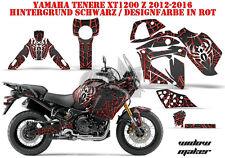 AMR RACING DEKOR GRAPHIC KIT YAMAHA YZF R1, XT 1200 TENERE Z/ZE WIDOW MAKER B
