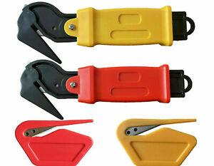 Moving Edge Safety Knife Box Opener Plastic Letter Cutter Shrink Wrap Knives