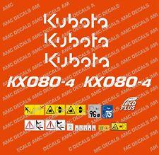 Kubota Kx080-4 Mini Pelle