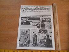 Disney Newsreel WED MAPO Employees magazine 1982 SS Minnie Picnic EPCOT film fes