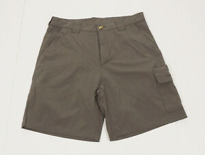 ExOfficio Brown Stretch Explorer Casual Hiking Tech Shorts Mens 32