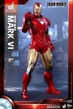 "Hot Toys--Iron Man 2 - Mark VI 12"" 1:6 Scale Action Figure Exclusive"