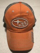 Subaru Orange Hat Cap Race Cars Cap Hat c33