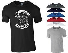 Sons Of Anakin T Shirt SOA Sons of Anarchy Star Wars Darth Vader Gift Men Top