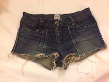Sass & Bide Denim Blue Shorts- UK 6