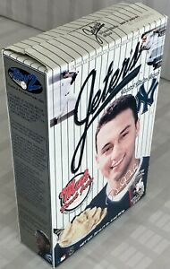 """Vintage """"Jeter's Frosted Flakes Cereal"""" Empty Box"""