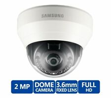 Samsung SND-L6013R 2MP 1080p HD Infrared Network Optical Dome Camera NEW!