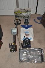 Whites Mx Sport metal detector with accessories.