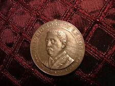 Médaille Bresil Antônio José de Lemos Bronze 1901