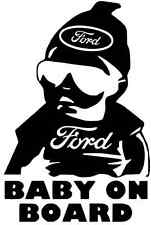 BABY ON BOARD Car Truck  Vinyl Decal Sticker for FORD
