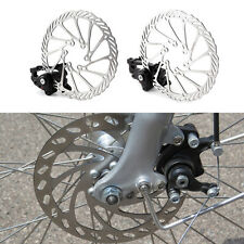 Bike Disc Brake Front & Rear Disc 160 mm Rotor Brake Kit for Mountain Bicycle