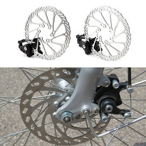 Mountain Bike Mechanic Tool-Free Pad Adjuster for Road Bike Aluminum Front and Rear Caliper Full Aluminum Alloy Bicycle Brake Lever SKYHY224 Bike Disc Brake Kit