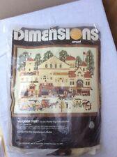 Dimensions Crewel Embroidery Kit Charles Wysocki VICTORIAN STREET 1980~1177